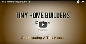 building a tiny home ecourse